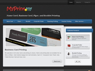 Business malaysia a dedicated website to promote business in malaysia myprint is a online business card printing company they offer a wide variety of printing services including business card flyers booklet reheart Image collections